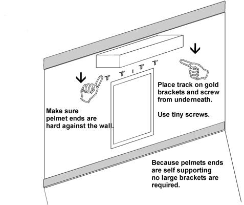 how to make a wooden pelmet